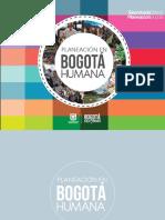 Planeacion en La Bogota Humana