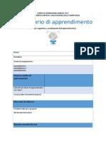 Diario Di Apprendimento FORMATIVO