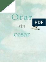 Orar Sin Cesar