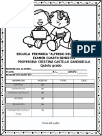 Examen Del Cuarto Bimestre Quinto