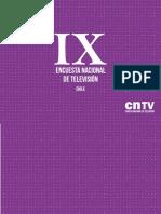 Ix Encuesta Nacional de Televisi n 2017