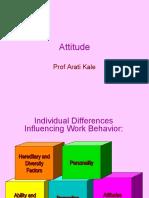 Attitude ; Lecture 7