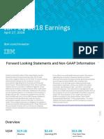 IBM 1Q18 Earnings Charts