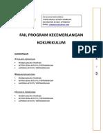 Template Front Page Fail Program Kecemerlangan