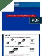 5 Aspectos Factor Camion Esal