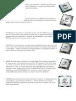 15 Tipos de Procesadores Actuales