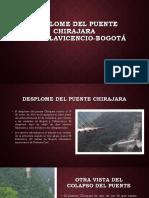 Desplome Del Puente Chirajara