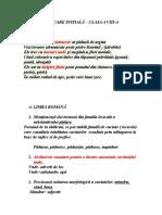 exerciții cu răspunsuri- română , clasa a VIII-a