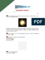017 Explosión Sideral