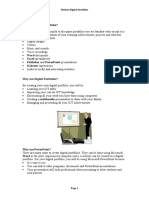 Digital_Portfolios_main_content Step by Step Instructions