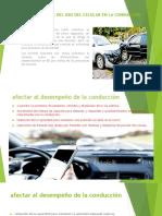 Consecuencias Del Uso Del Celular en La Conducción