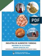 Informe Actividad 1er Semestre 2017 Argentina