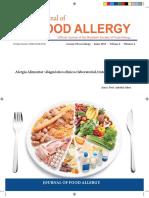 Alergia Alimentar - Diagnóstico Clínico e Laboratorial, Tratamento e Prevenção