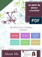 my edlt 301 e-portfolio