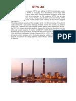 NTPC dadri thermal  report