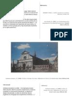 requisito y objetivo en el diseño de la fachada  Santa Maria Novella