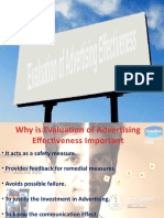 CB-Evaluation of Advertising Effectiveness