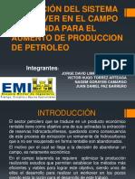 Aplicación Del Sistema Workover en El Campo Tatarenda