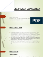 Maximas Avenidas