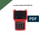 Manual Do Satlink WS-6999 HD Pt Br