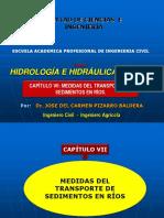 Capitulo VII- Medida del Transporte de sedimentos en ríos - 2016-I-UCP.pptx