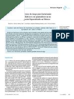 Incidenci y Factores de Riesgo Para Bacterimia