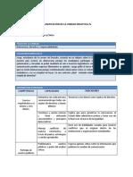 FCC - Planificación Unidad 4 - 5to Grado