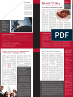Political Newsletter Tabloid CS4