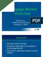 Mortgage Market Overview - Nov 21