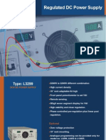 3KW Regulated DC Power Supply