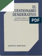 Celener, Graciela - El Cuestionario Desiderativo 1