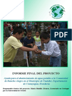 Informe Final Rancho Alegre 2012