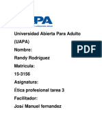 Tarea. # 3etica-Profesional