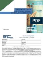 Rúbrica de Competencias p.profesional 1