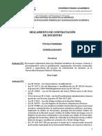 Reglamento Villareal