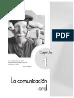 Lectura de Actividad 01 - Comunicacion, Expresion y Lenguaje