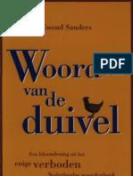 Sanders, Ewoud_Woorden Van de Duivel Koerbagh