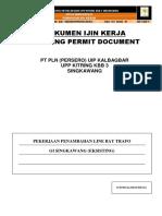 Working Permit Penambahan Line Bay Trafo GI Singkawang (260816)