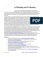 Chp 01 Program Plan and Eval