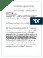 Epistemologia Historia de La Matematicas