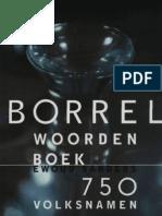 1997 Sanders, Ewoud Borrelwoordenboek