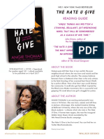 The Hate U Give Reading Guide