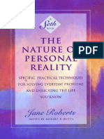 Jane Roberts - Seth - Nature of Personal Reality (Scanned).pdf