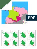 Cambios Territoriales de Colombia