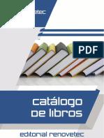Editorial Renovetec Catalogo Libros2015