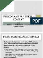 PERCOBAAN FRAENKEL-CONRAT