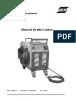 Manual de Operação Lphh 355
