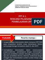 PPT 4.1_Penyusunan RPP PJOK_31 Januari 2018