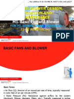 M1- Basic Fan and Blower Technology