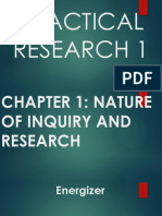 PRACTICAL RESEARCH 1 Chapter 1 - Lesson 1